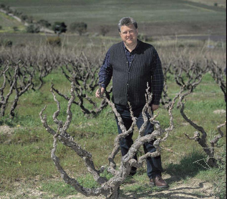 Roman Bratasiuk is a self-taught winemaker. Photo: Clarendon Hills