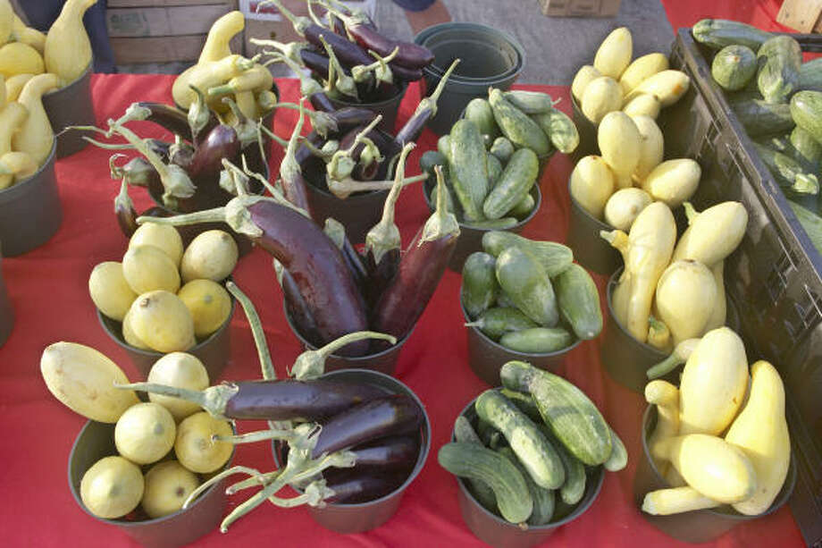 Assorted vegetables at Atkinson Farms. Photo: GABRIELLA NISSEN