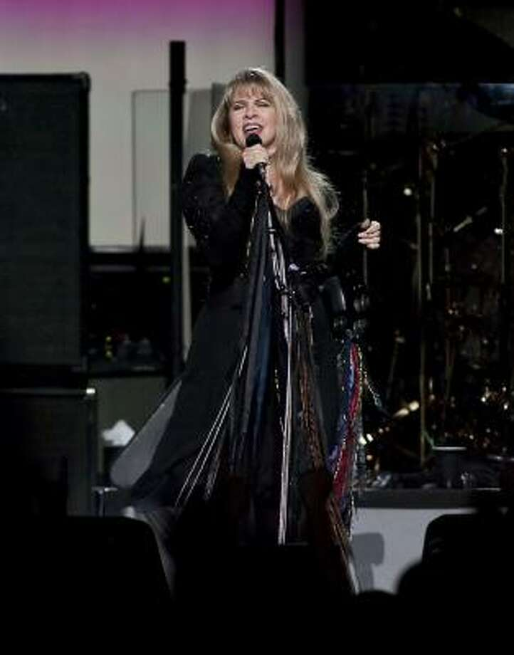 All eyes were on Stevie Nicks at Toyota Center on Saturday. Photo: Nathan Lindstrom, For The Chronicle