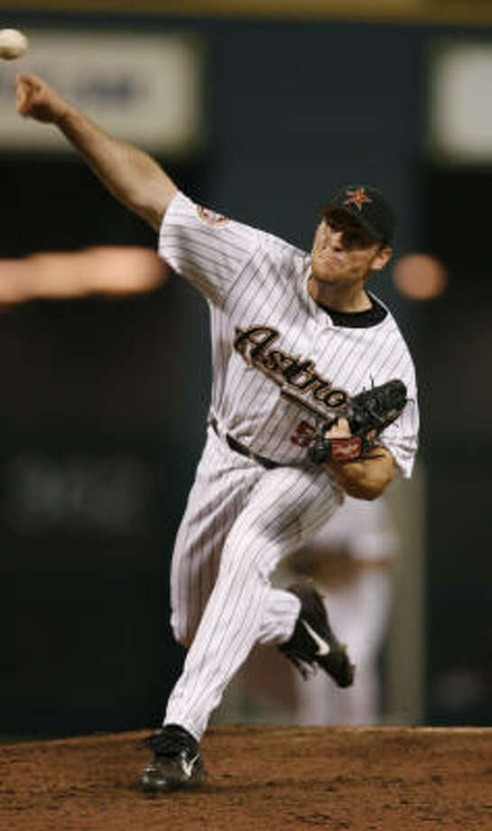 Brad Lidge had his ups and downs in 2006 for the Astros and looks for a more even outcome in 2007. Photo: KAREN WARREN, Houston Chronicle