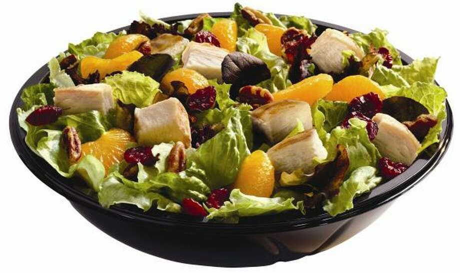Wendy's is so serious about its newest salad that it serves it only with fresh ingredients. Photo: WENDY'S INTERNATIONAL