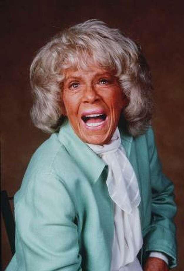 Betty Hutton Photo: MARK HILL, Associated Press