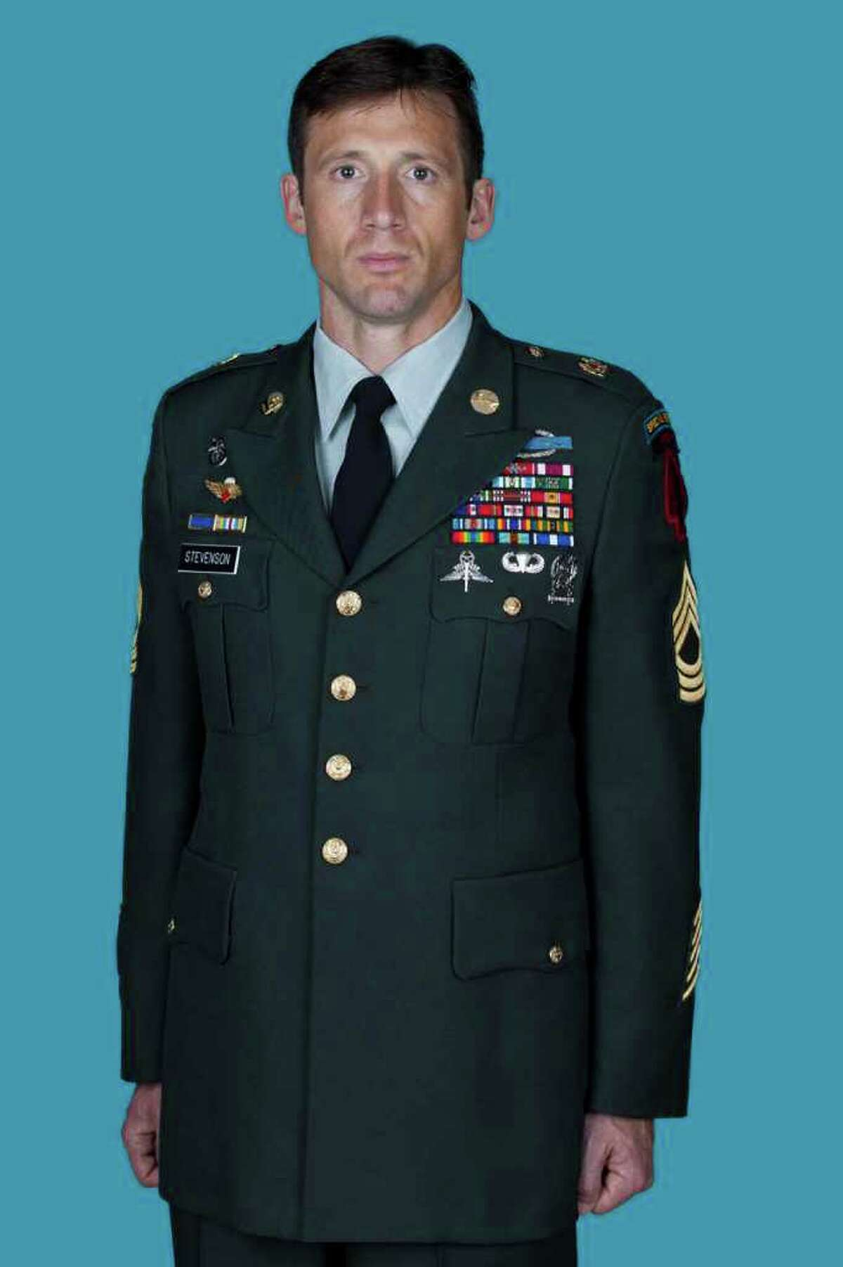 Master Sgt. Benjamin A. Stevenson, 36, was a highly decorated soldier with the U.S. Army Special Operations Command stationed in Fort Bragg, N.C., according to an Army news release.