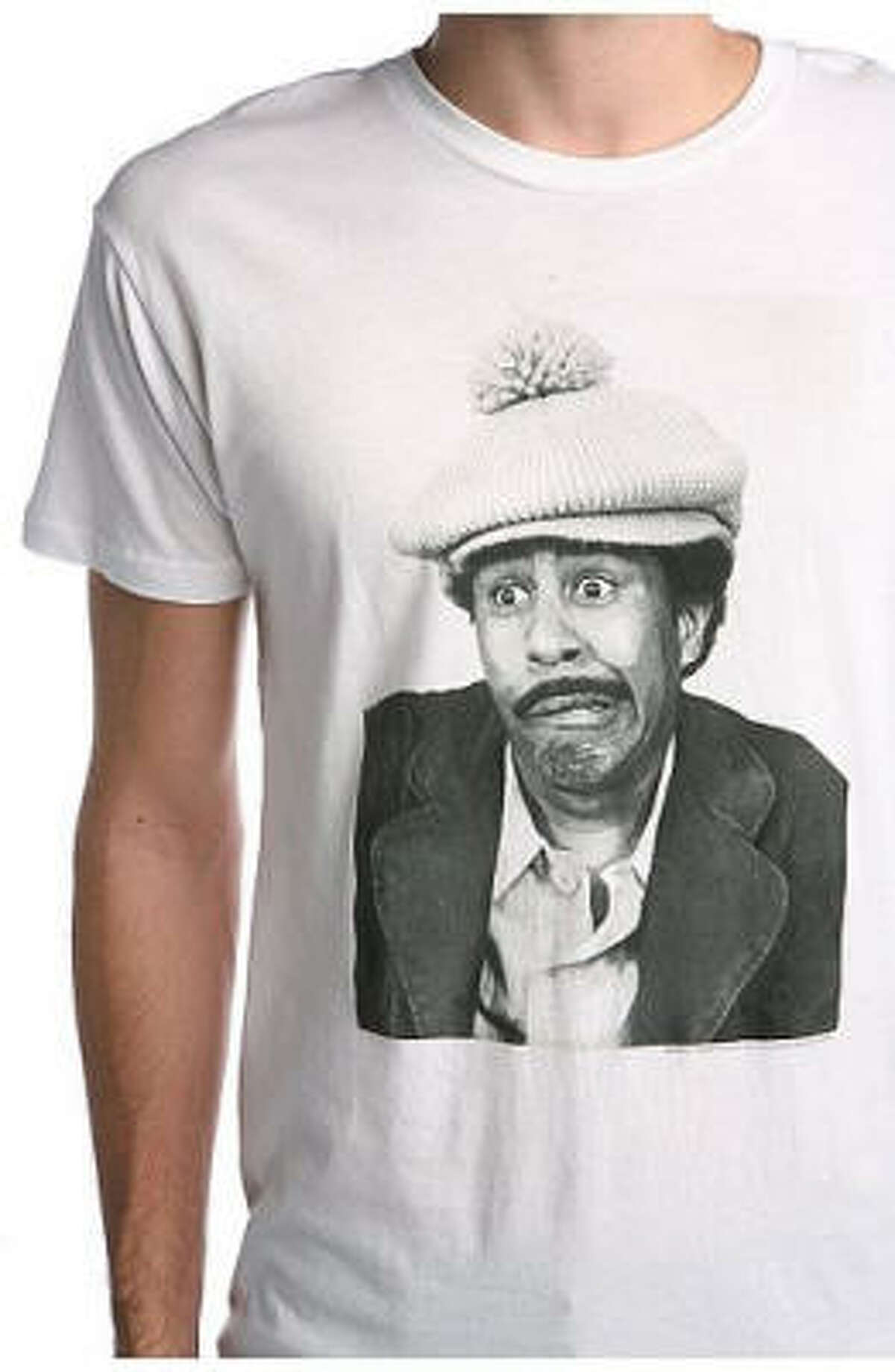 A graphic tee featuring comedian Richard Pryor