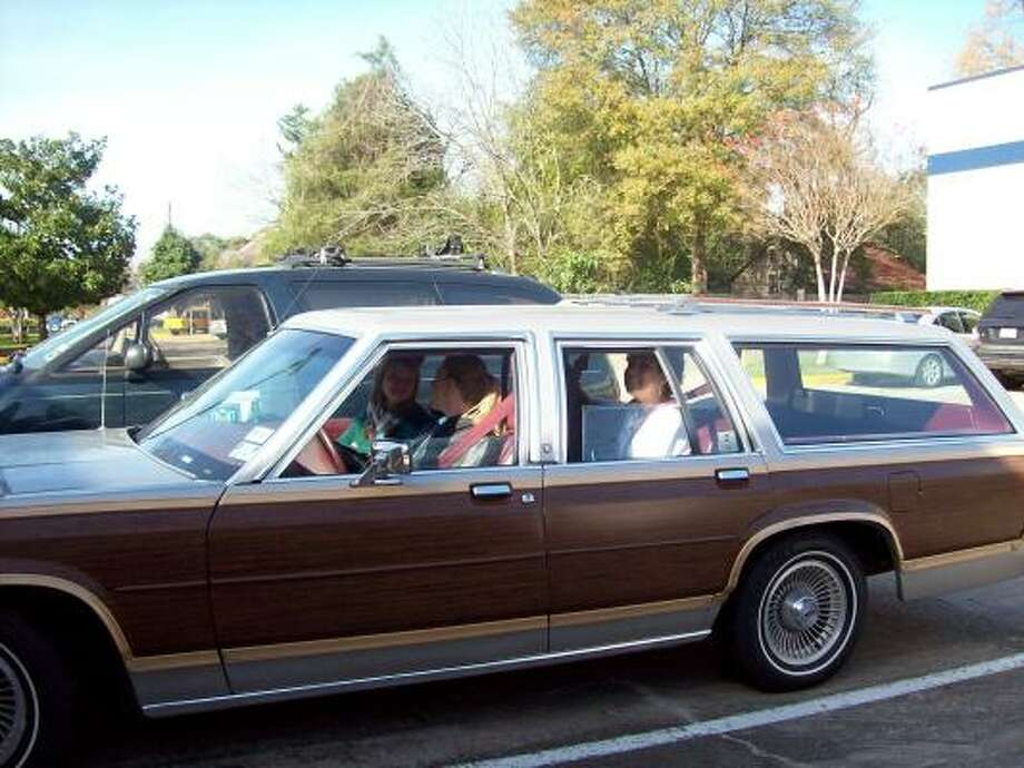 Authorities are asking for help in finding a vehicle that was stolen from The Monarch School last month. The white 1991 Ford Country Squire station wagon with wood paneling was stolen on Aug. 15 from the parking lot of the school.