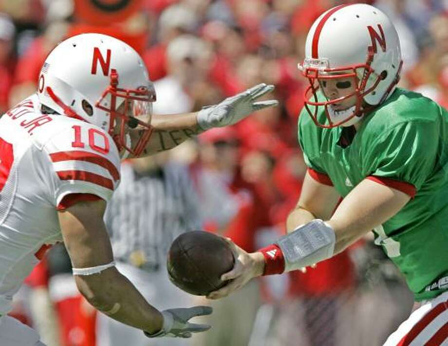 The Cornhuskers' annual spring football game was a hit, with tickets reportedly sold for $100 leading up to the contest. Photo: NATI HAMIK, ASSOCIATED PRESS