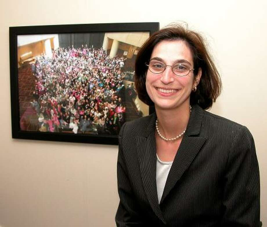 Roberta Schwartz, 37, is a breast cancer survivor and co-founder of Young Survival Coalition, an organization dedicated to improving the quality and quantity of life for those under 40 with breast cancer. Schwartz, senior vice president at The Methodist Hospital was named among the recipients of the 2008 Yoplait and Susan G. Komen for the Cure Champion award. Photo: Courtesy