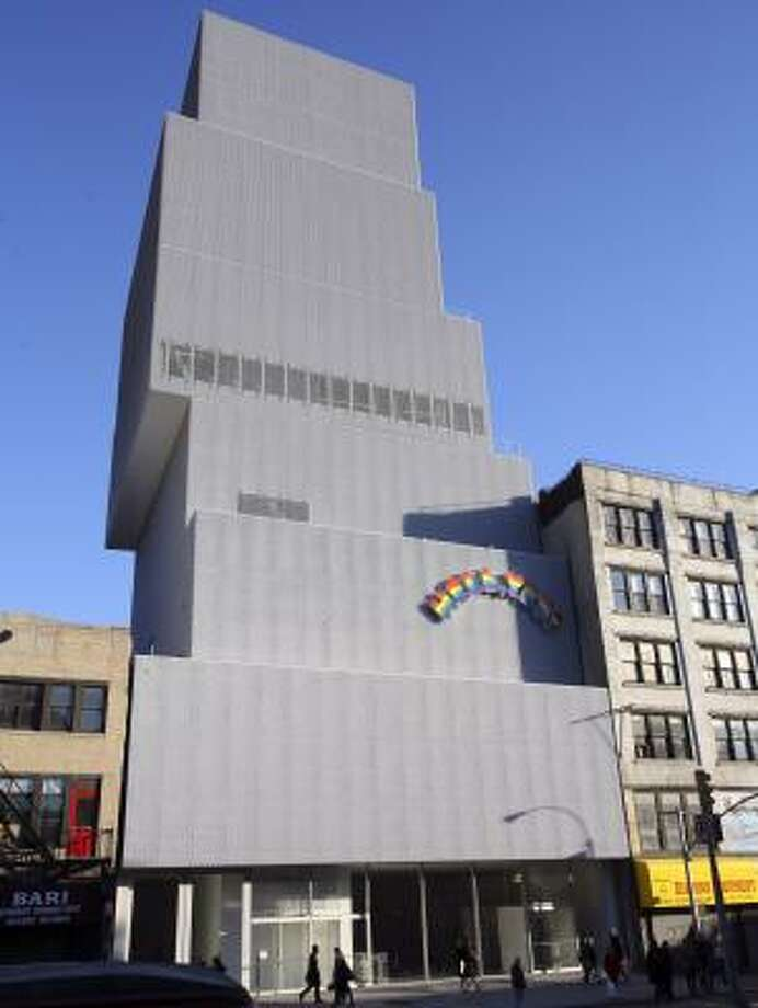 The New Museum of Contemporary Art was designed by Sanaa, a Japanese firm. Photo: SUZANNE DECHILLO PHOTOS, NEW YORK TIMES