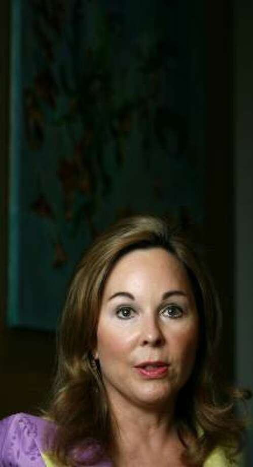 Nancy Kinder led the fundraising efforts for Discovery Green. Photo: KAREN WARREN, CHRONICLE