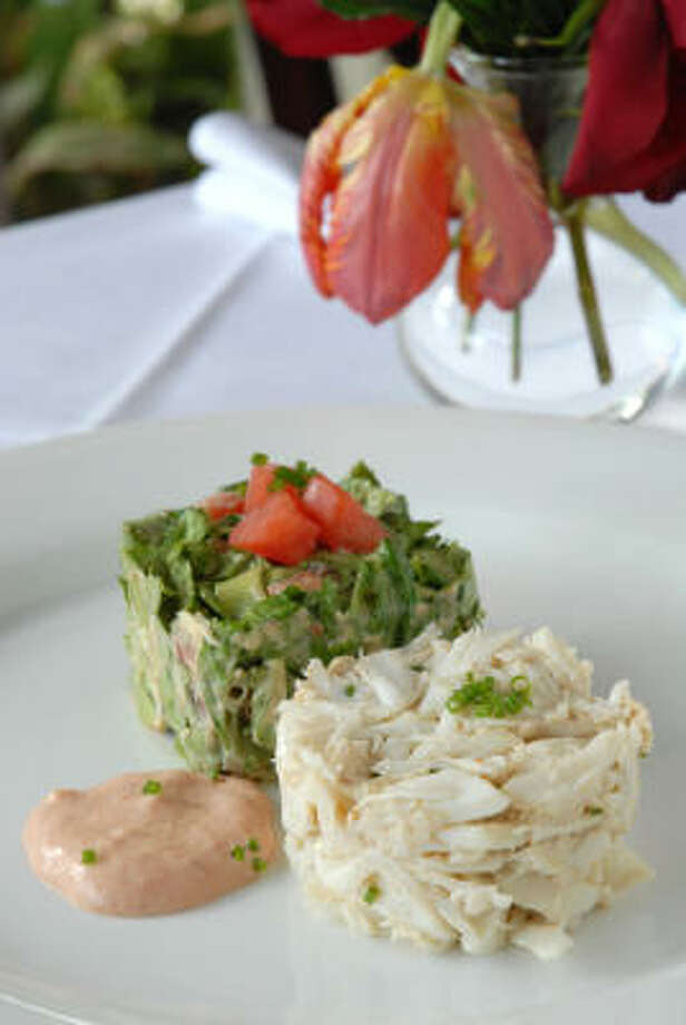 Melody Pate's crab salad is a popular appetizer at Alberta. Photo: Megan Thompson, For The Chronicle