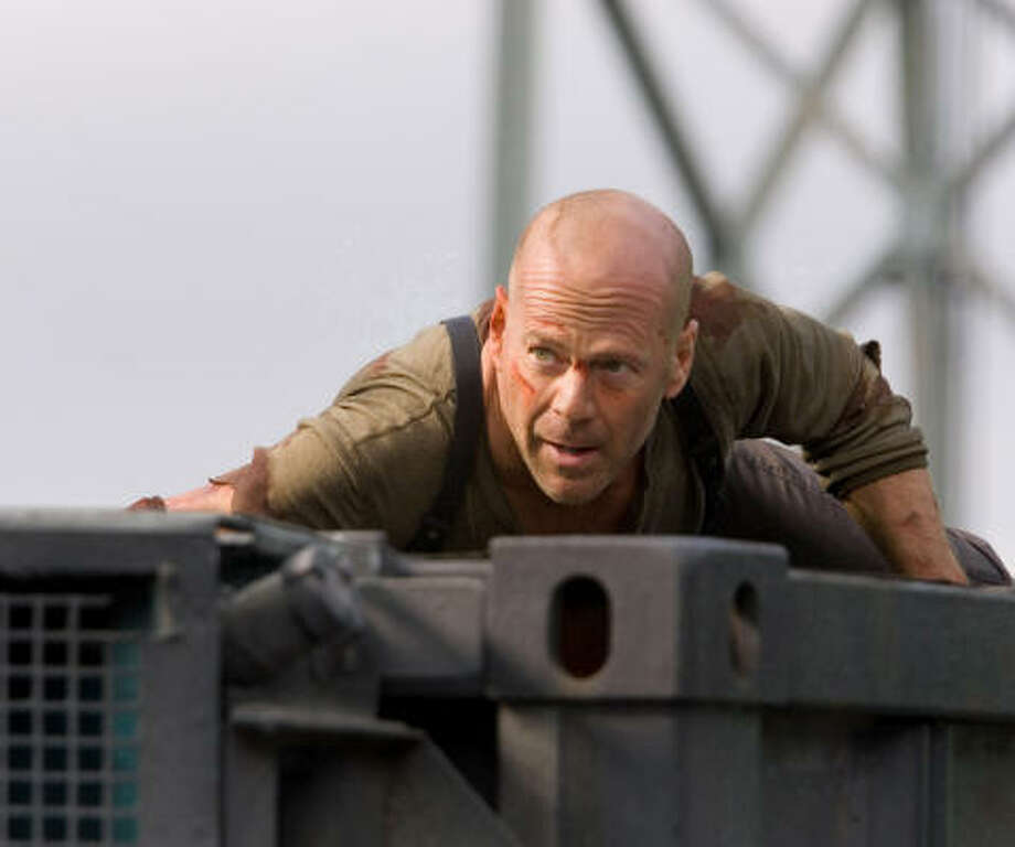 Bruce Willis reprises his signature role as the New York City cop who always finds himself in the wrong place at the wrong time. Photo: Frank Masi, Twentieth Century Fox