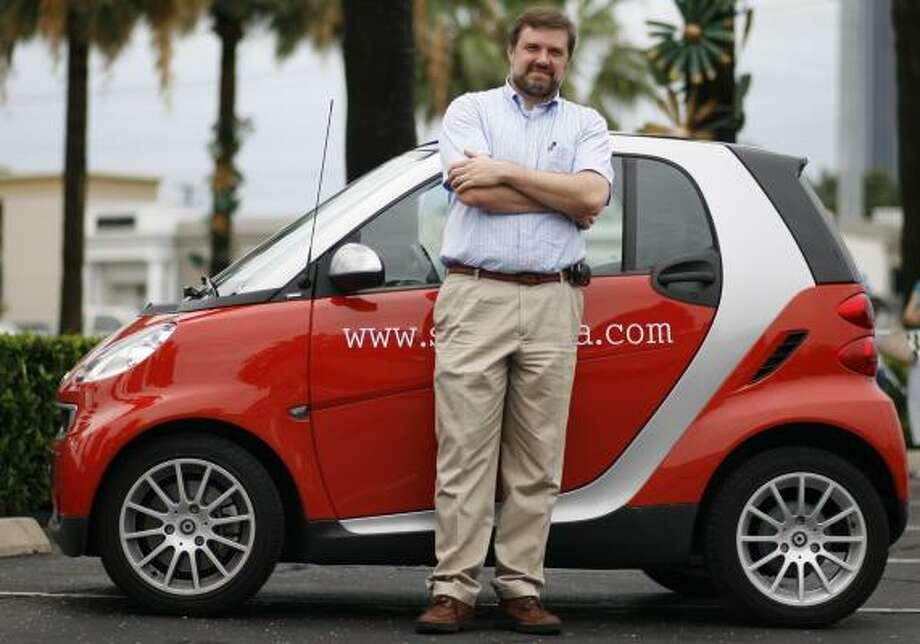 Actual Smart Car Photo: SHARÓN STEINMANN, CHRONICLE