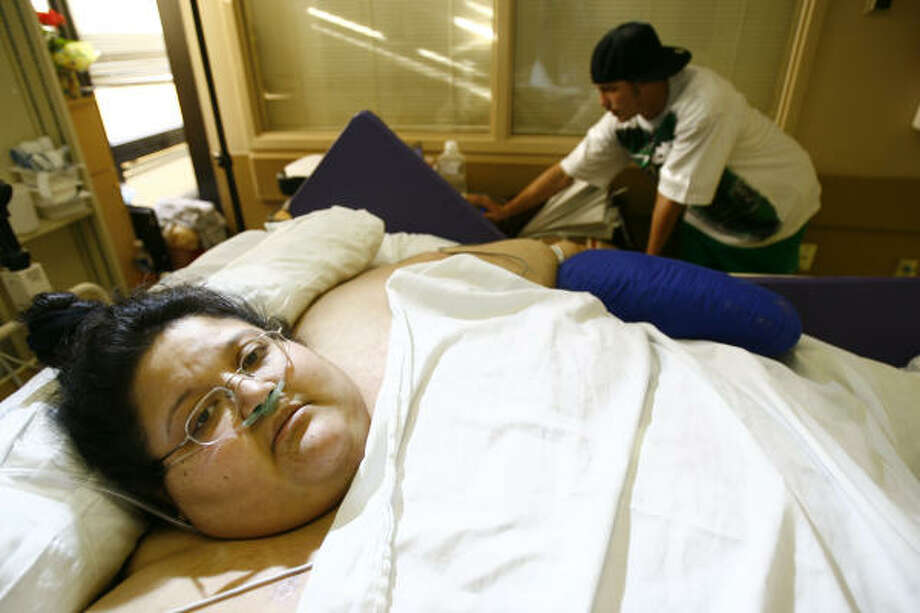 "Renee Williams' surgeon said she was ""doing excellent"" after gastric bypass. Photo: Nick De La Torre, CHRONICLE"