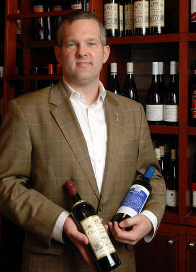 Sommelier Antonio Gianola's noteworthy wine list at Catalan routinely features between 50 and 70 offerings from importer Neal Rosenthal, who favors traditional terroir-driven bottlings. Photo: DAVE ROSSMAN:, FOR THE CHRONICLE