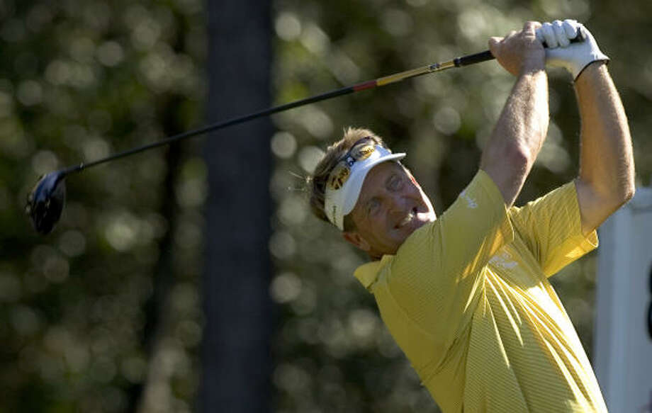 Fred Funk said he will be more selective next year about which events he plays. Photo: Brett Coomer, Chronicle