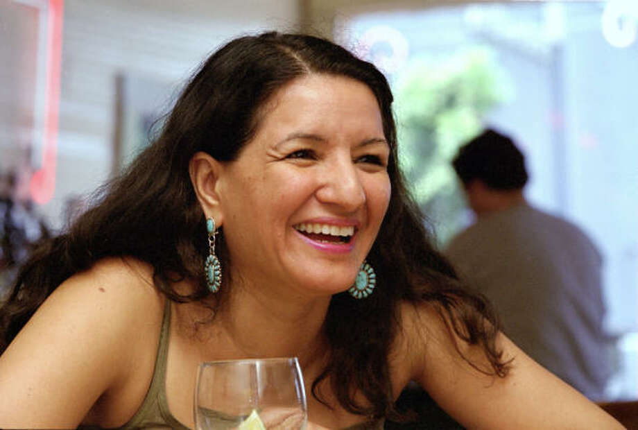 Your guide: Sandra Cisneros. Award-winning author whose books include Woman Hollering Creek and Other Stories, The House on Mango Street and Caramelo.Years lived in San Antonio: 20, off and on.Interests: Collecting textiles, folk art and stray animals. Photo: D. Fahleson, Chronicle