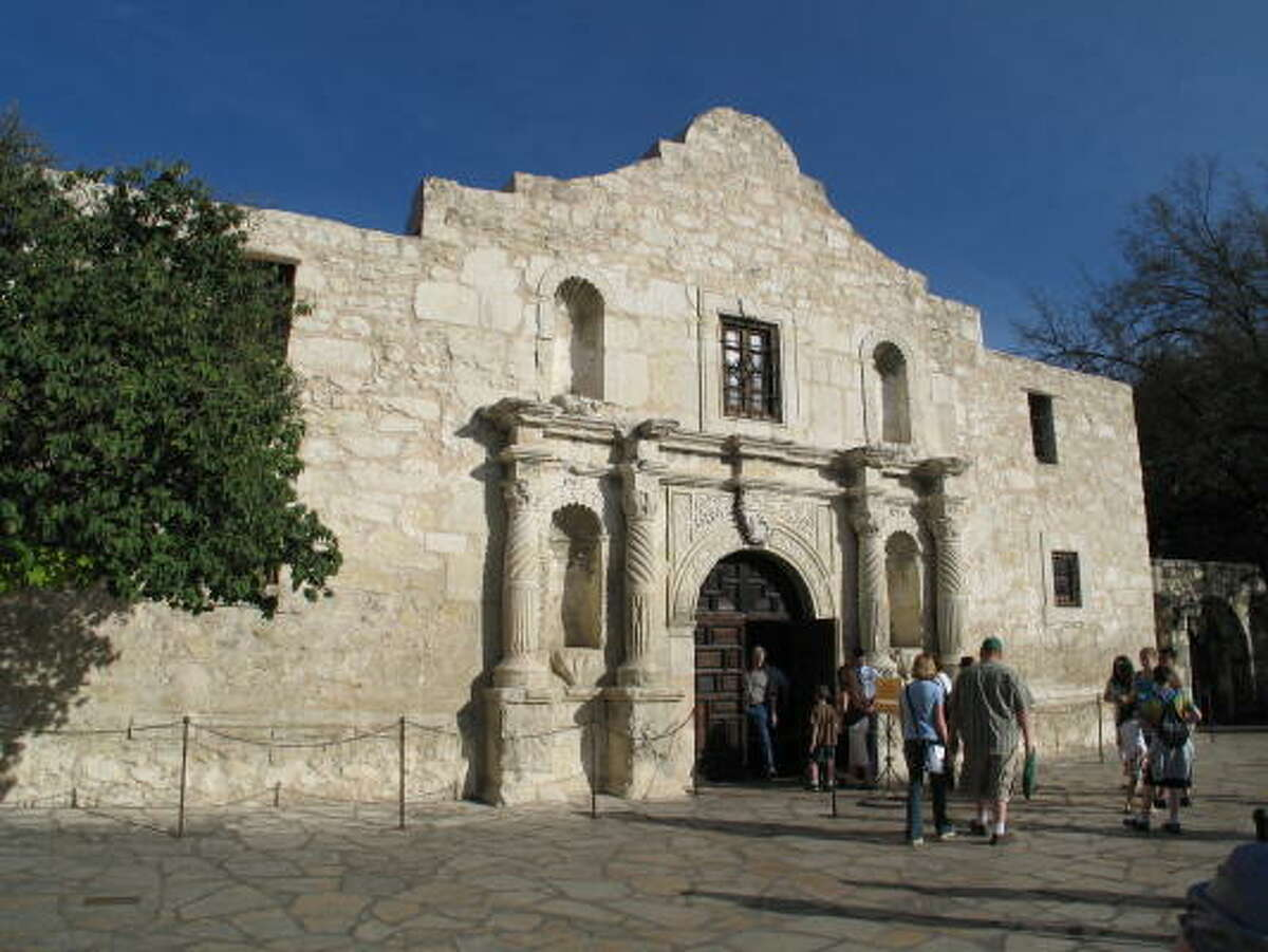 The Alamo's guardians say the shrine, the site of a siege that came to a climax 171 years ago today, needs repairs.
