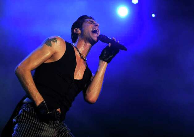 Jane's Addiction plays during The Gathering of the Vibes festival on July 23, 2011. Photo: Lindsay Niegelberg / Connecticut Post Staff