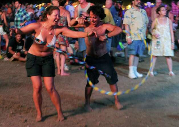 The Gathering of the Vibes festival on July 23, 2011. Photo: Lindsay Niegelberg / Connecticut Post staff