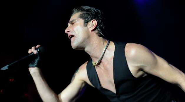Jane's Addiction performs during The Gathering of the Vibes festival on July 23, 2011. Photo: Lindsay Niegelberg / Connecticut Post staff