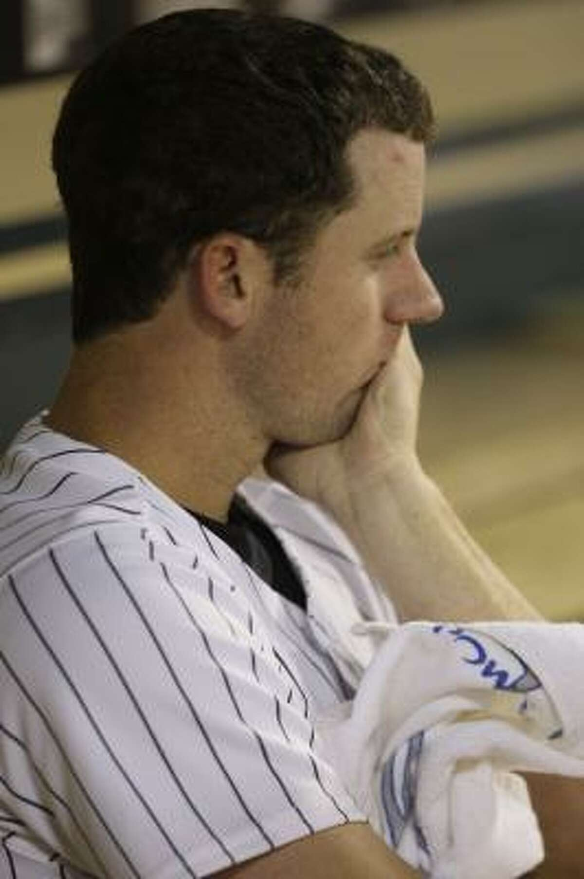 Roy Oswalt was roughed up by the Marlins, giving up four homers in a game for the first time in his career.