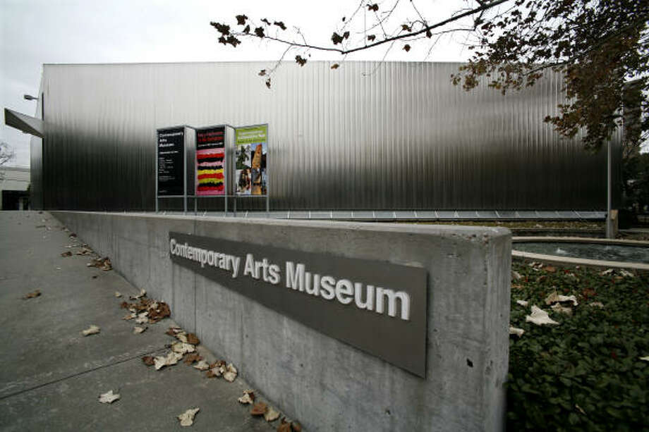 The exhibition building at the Contemporary Arts Museum Houston lost power for four or five hours. Photo: Steve Ueckert, Houston Chronicle