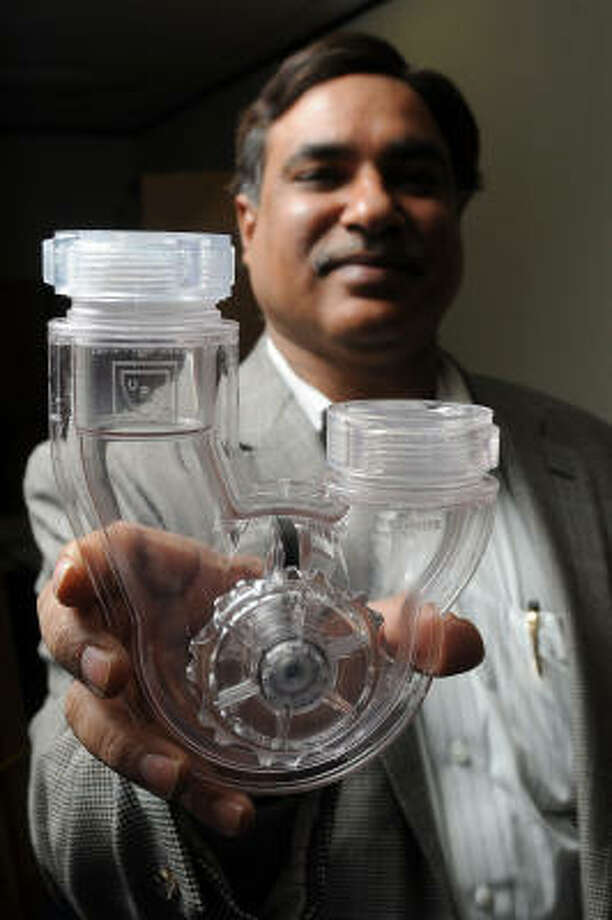 Sanjay Ahuja leads PF WaterWorks. Photo: Dave Rossman :, For The Chronicle