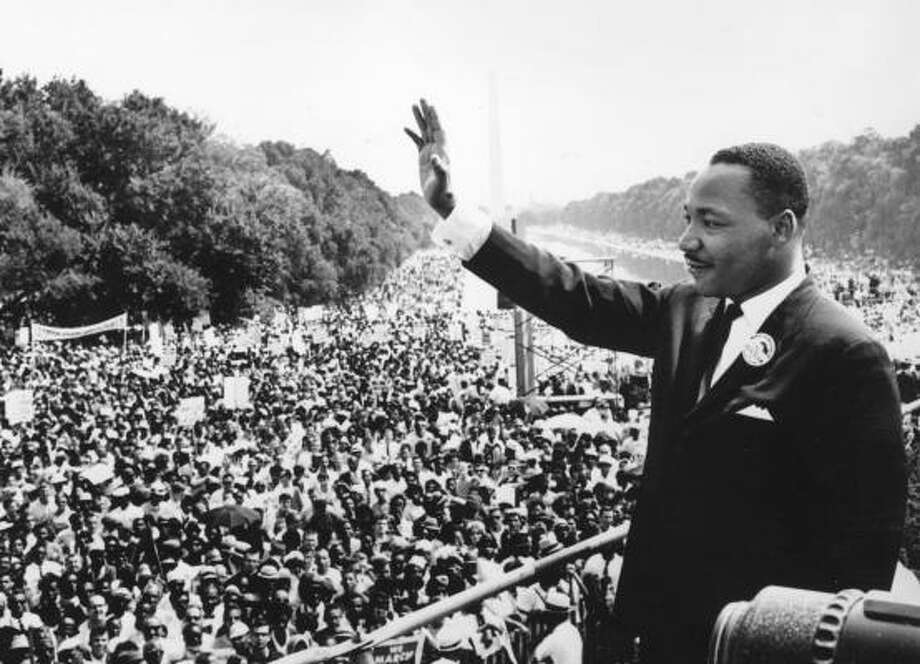 """Dr. King always made it clear that his civil rights and political activities were an extension of his ministry,"" Lewis Baldwin, author of Never to Leave Us Alone: The Prayer Life of Martin Luther King Jr. Photo: Getty Images"