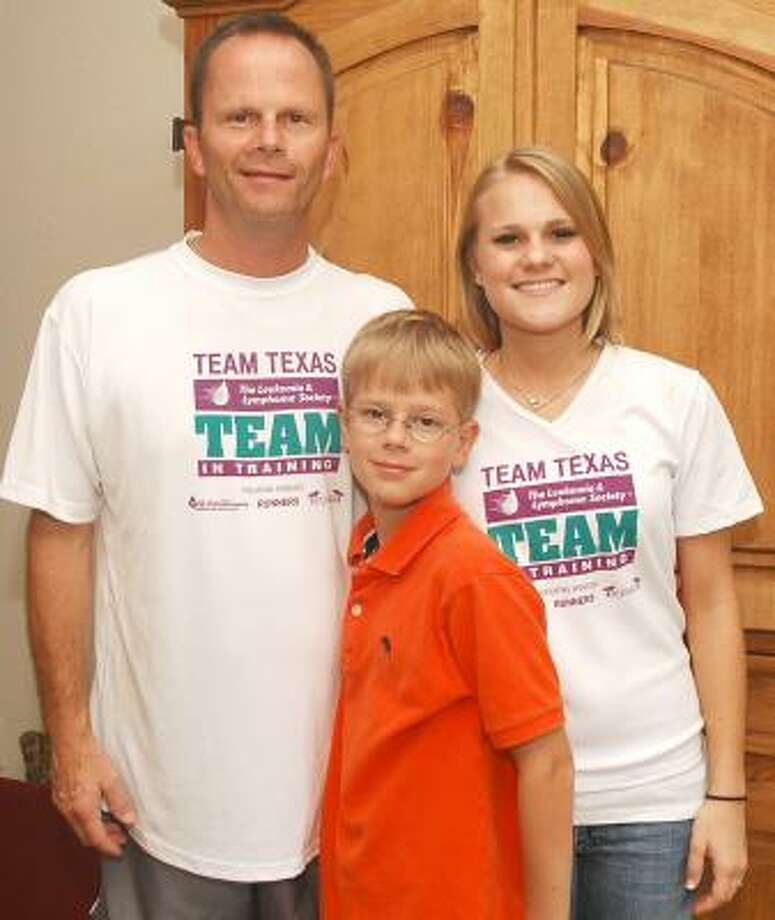 Father, daughter team up to fight leukemia (w/photo) - Houston Chronicle