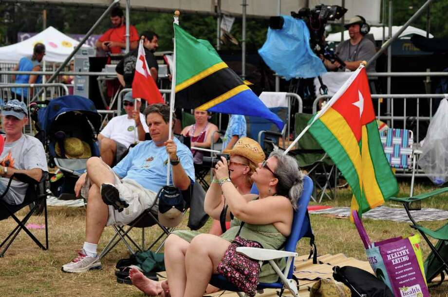 Gathering of the Vibes, Day 4 - July 24, 2011 Photo: Tebben Gill Lopez / Hearst Connecticut Media Group