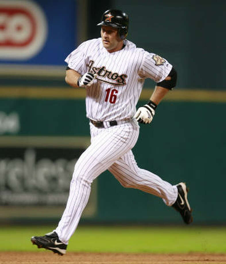 Jason Lane experienced an up-and-down 2006 season with the Astros, even doing a stint back at Triple A Round Rock. Photo: James Nielsen, Houston Chronicle