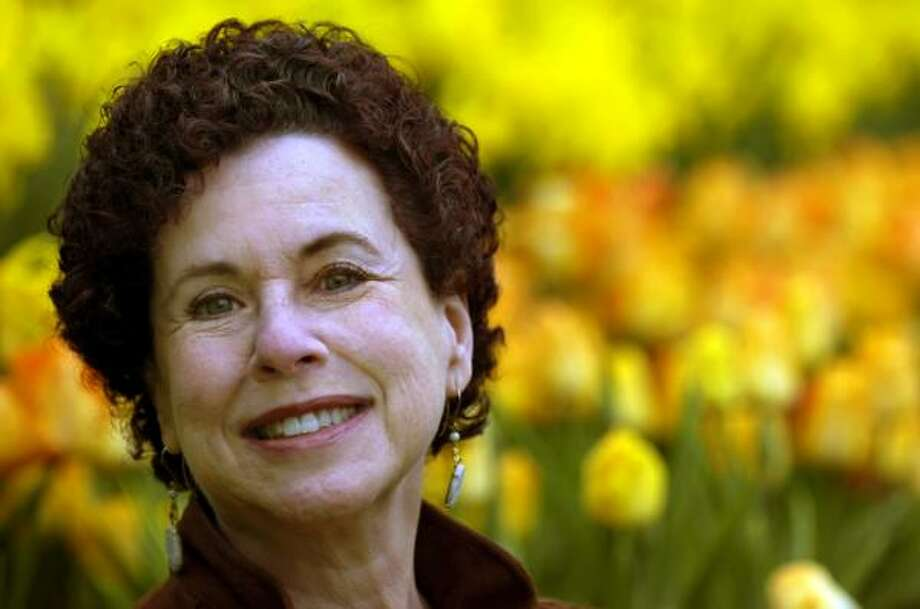 Cultural anthropologist Jane Nadel-Klein is a professor at Trinity College in Hartford, Conn., where she studies the habits of gardeners. Photo: CLOE POISSON, THE HARTFORD COURANT