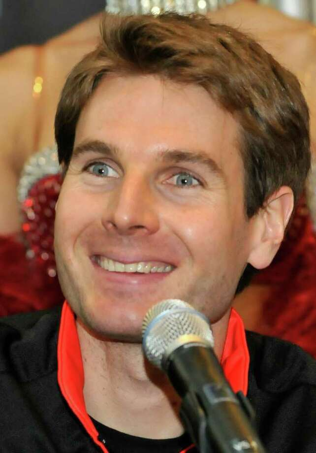 LAS VEGAS, NV - FEBRUARY 22:  Indy Car driver Will Power of Australia driver of the #12 Verizon Team Penske appears at a news conference at Crystals at CityCenter on February 22, 2011 in Las Vegas, Nevada. IndyCar announced that Las Vegas will host the season-ending IZOD IndyCar race at the Las Vegas Motor Speedway on October 16.  (Photo by David Becker/Getty Images for IndyCar) Photo: David Becker / 2011 Getty Images