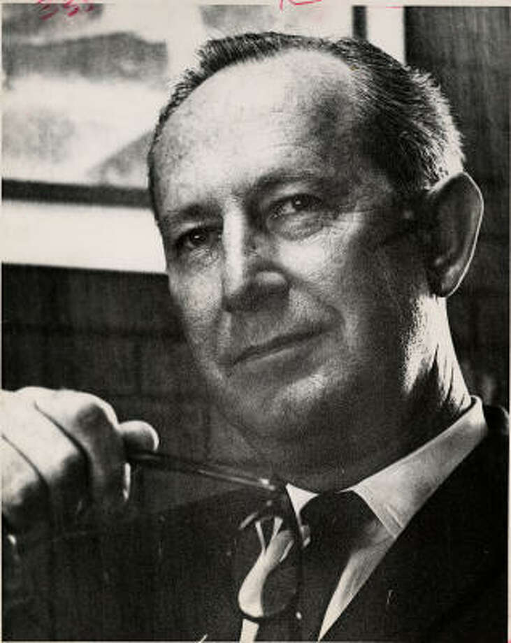 Arleigh Templeton, shown in 1963. Photo: Richard Pipes, Chronicle File