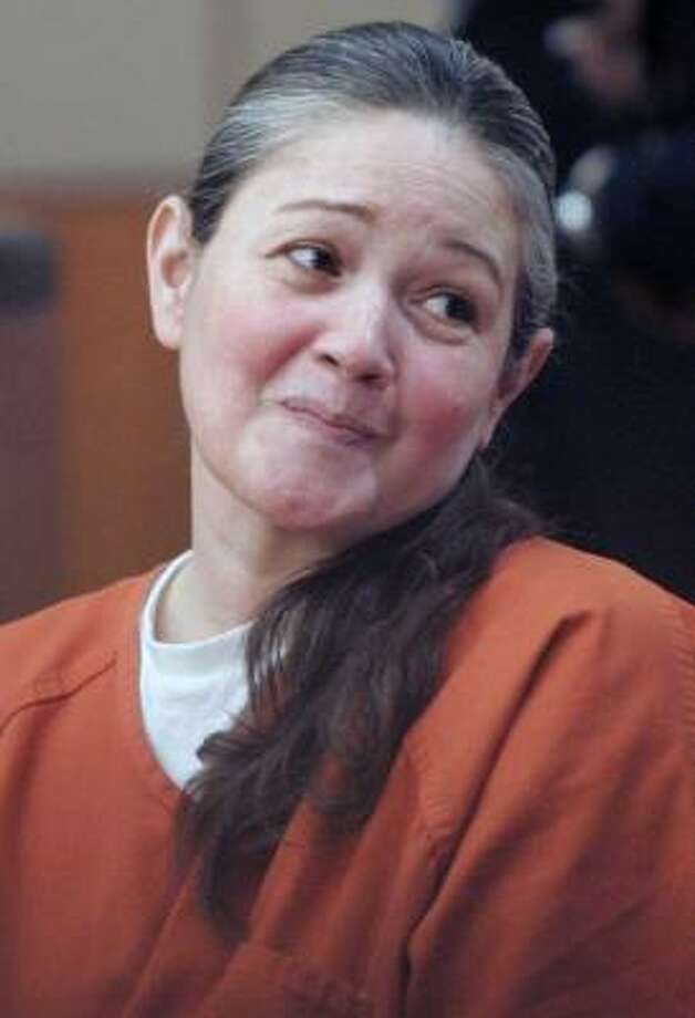 Clara Harris said she signed a $300,000 promissory note while under suicide watch. Photo: PAT SULLIVAN, AP FILE