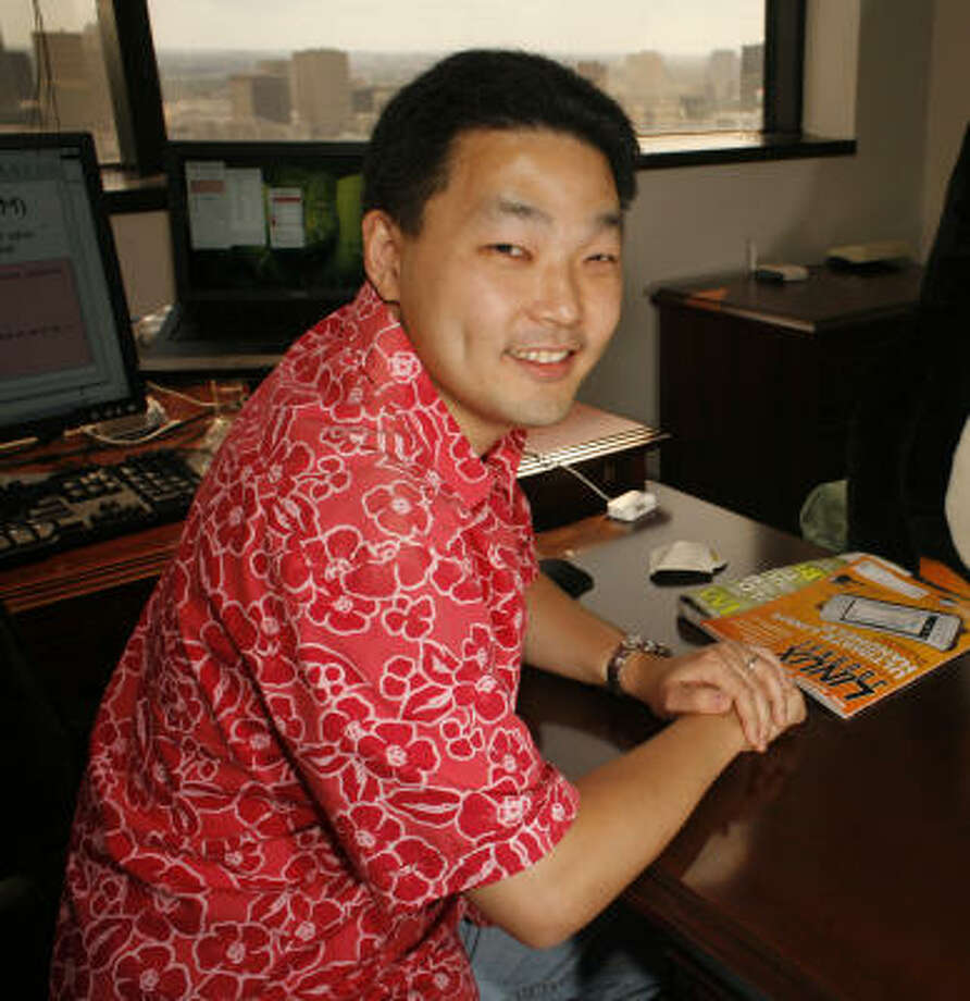 Houston entrepreneur Richard Yoo says now is the time for rational and calculated thinking. Photo: Steve Ueckert, Houston Chronicle