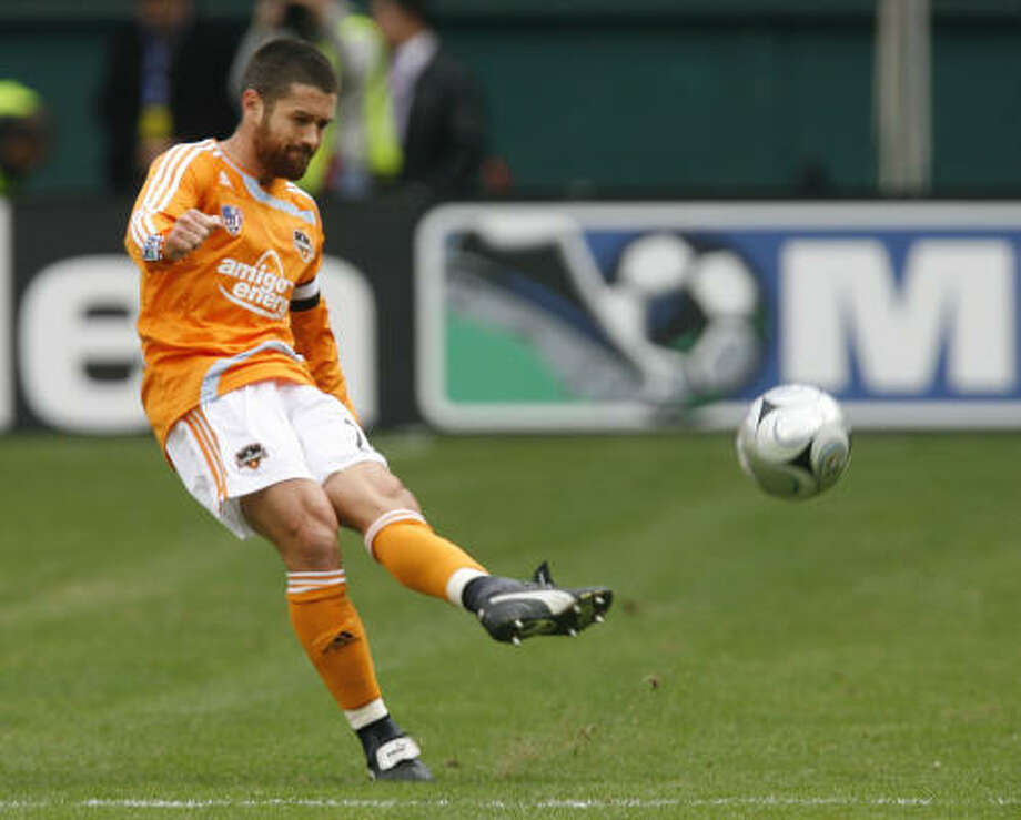 For Dynamo captain Wade Barrett, the team's goal in 2009 is the same as in years past: win the MLS title. Photo: James Nielsen, Houston Chronicle