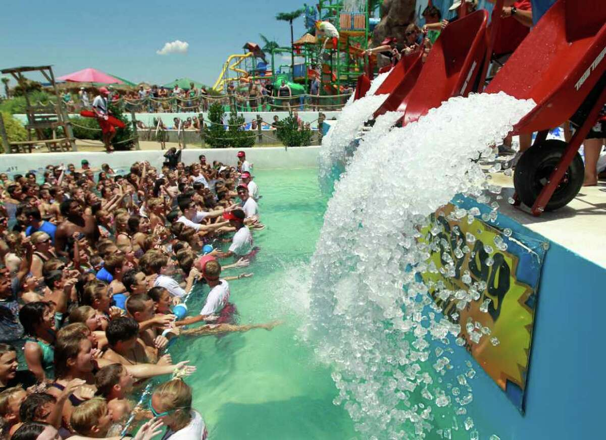 PHOTOS: Summer opening dates at Texas water parks>>>Get ready to cool off this summer at these Texas water parks...