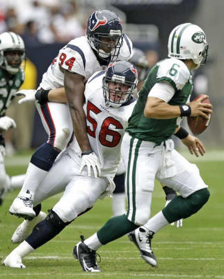 The Texans and New York Jets will meet on Nov. 21 in the Meadowlands. Photo: Brett Coomer, Chronicle
