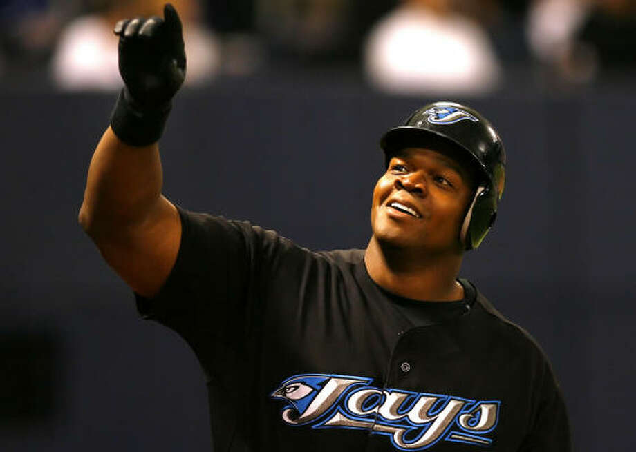 Frank Thomas is the 21st member of the 500 home run club, and three other players (Alex Rodriguez, Jim Thome and Manny Ramirez) also could reach of the milestone this season. Photo: Scott Schneider, Getty Images