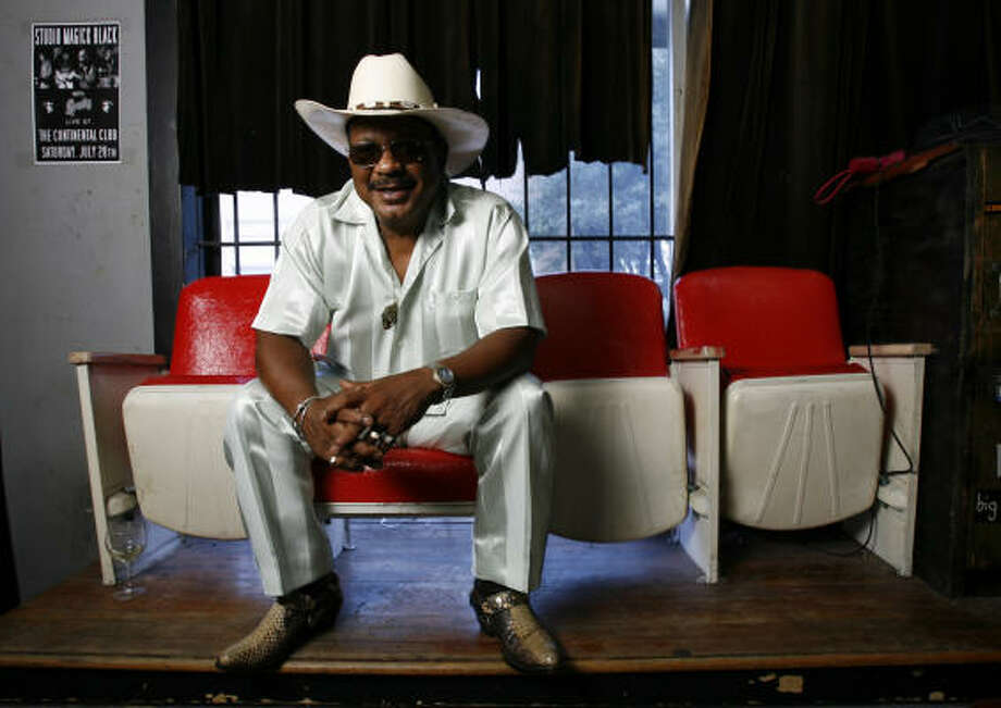 Archie Bell Saturday, May 3 at 2:30 p.m. Bud Light World Music Stage Photo: Karen Warren, Chronicle