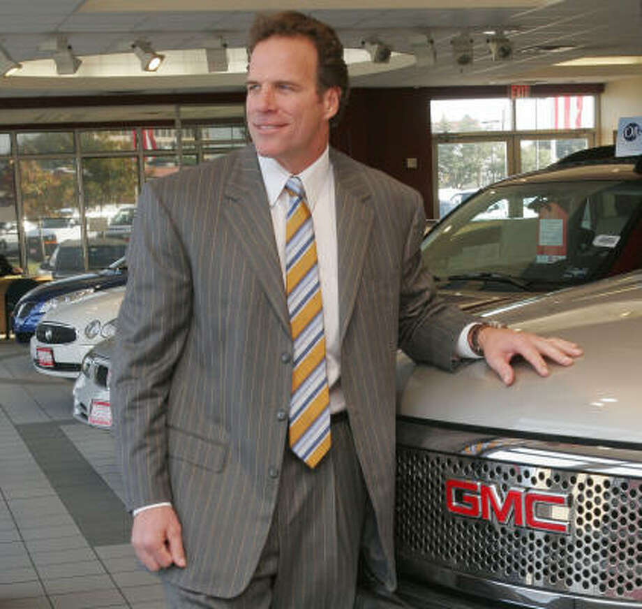 Ray Childress was the public face of the dealership. Photo: Bill Olive, For The Chronicle