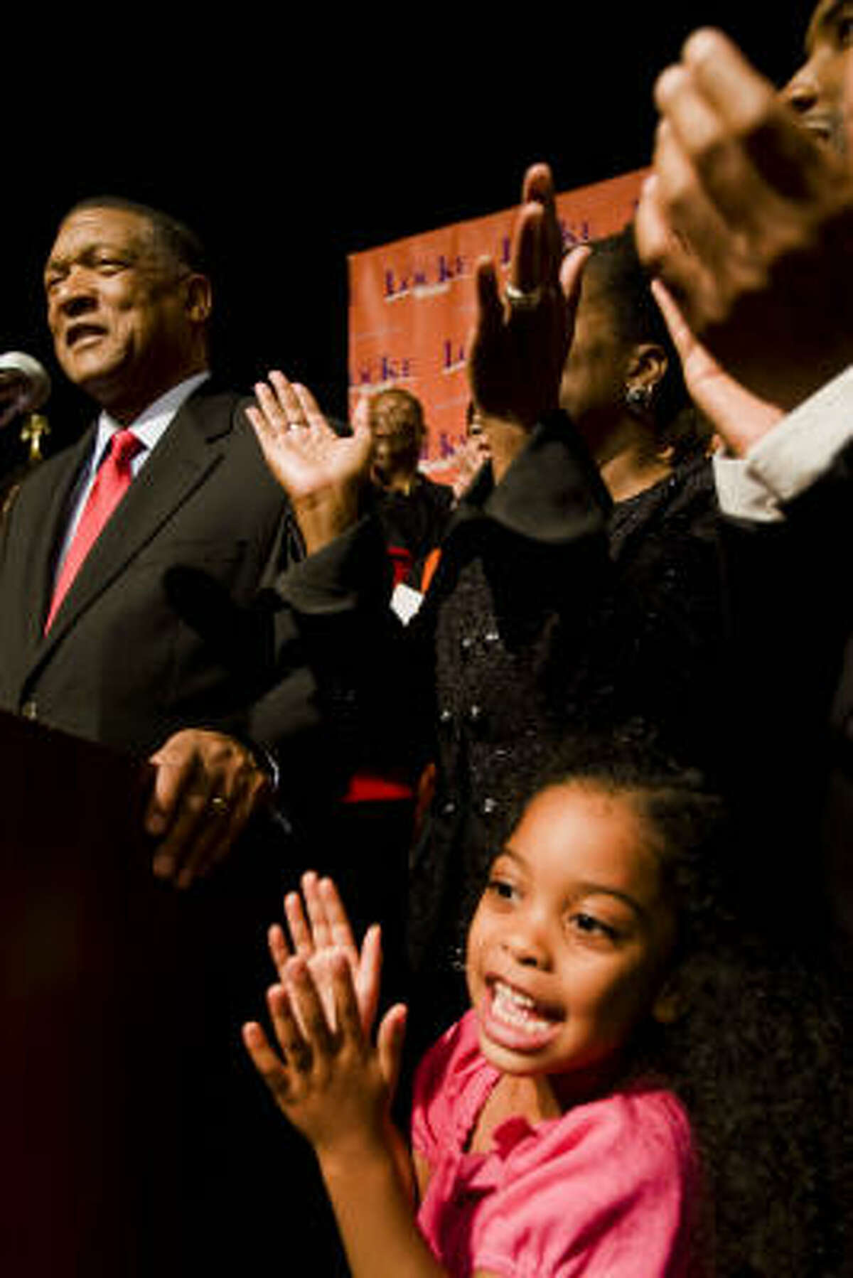 Data also show Gene Locke must raise black turnout and win over more white voters.