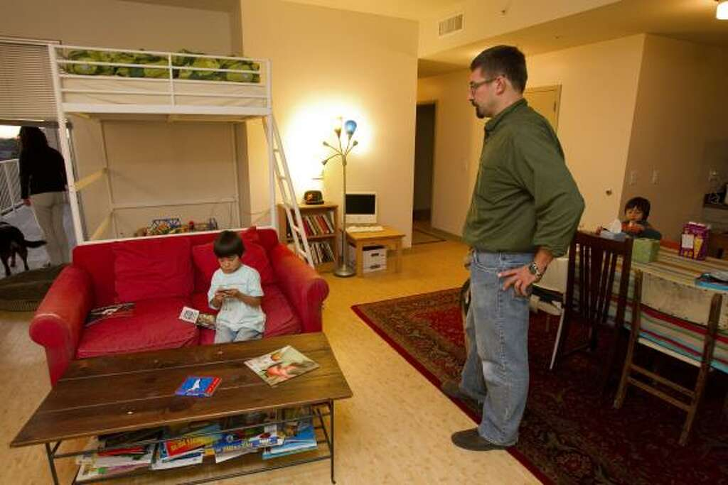 A University Of Houston Dorm Room Is Home To History Professor Raul Ramos,  Sons Joaquin Part 54