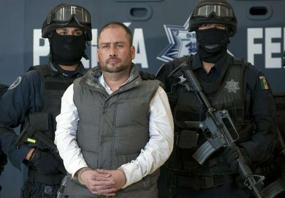 Arturo Gallegos Castrellon led the gang Los Aztecas. Photo: ALFREDO ESTRELLA, AFP/Getty Images