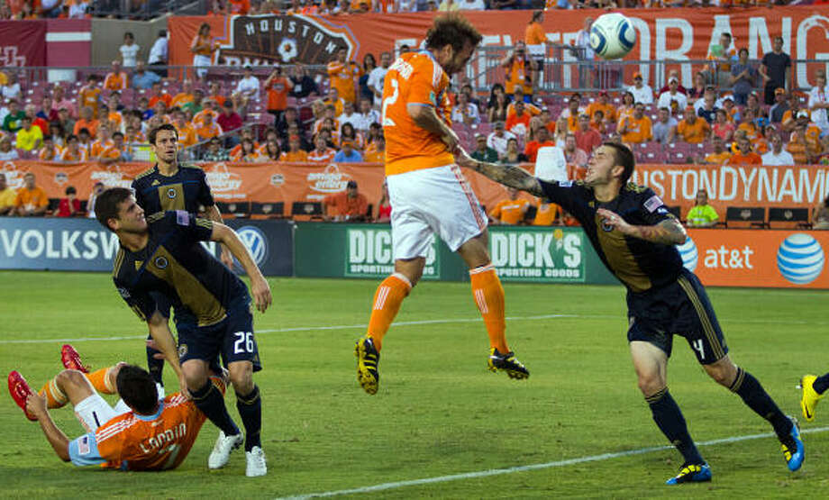 Houston will host Manchester United at the 2010 AT&T MLS All-Star Game. Photo: Smiley N. Pool, Chronicle