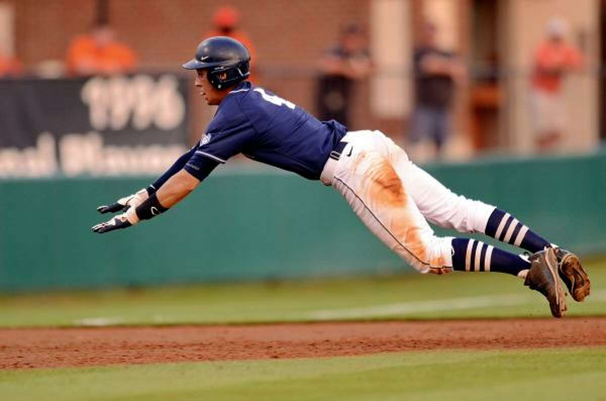 George Springer is the first outfielder taken in the first round by the Astros since 1988.