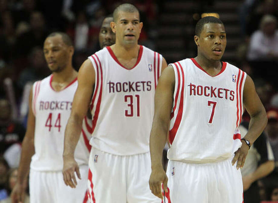 The Rockets walked off the court and into the All-Star break with concerns about their play. Photo: James Nielsen, Chronicle