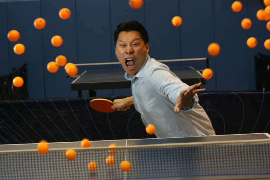Houston native Jimmy Tsai co-wrote and stars in Ping Pong Playa. The film opens Sept. 12 in the Houston area. Photo: Mayra Beltran, Houston Chronicle