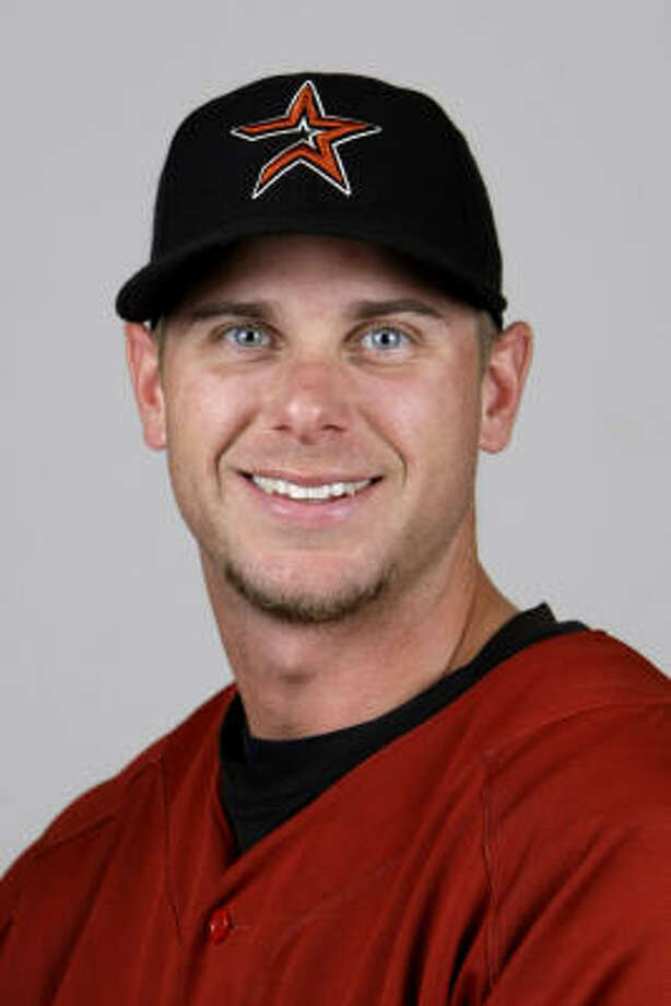 Houston Astros pitcher Brandon Backe was among 10 people arrested during an incident involving Galveston police at a hotel bar. Photo: Karen Warren, Houston Chronicle
